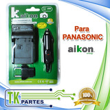 Cargador Cámara Para Panasonic-01 Vbk180/360 Dmw-bck7
