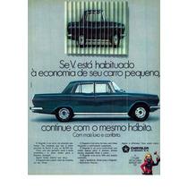 Borracha Vigia (vidro Traseiro) Regente Simca - Chrysler