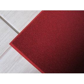 Espuma Acustica Lisa Vermelha 2,5 Cm Revestimento Estudio