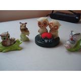 Coleccion De Figuras De Buhos- Tecolotes