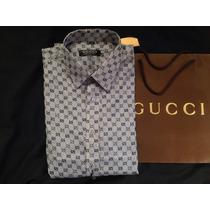 Camisa De Vestir Gucci Guccisima
