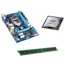 Kit Intel Core I3 + Placa 1155 + 4gb Memória- Pronta Entrega