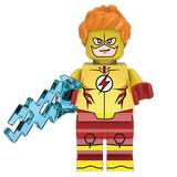 Figura Sax 03 Genial Chico Flash Boy Compatible Con Lego