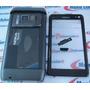 Carcaça Nokia N8 Preta + Chassi + Botões Completa