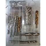 Broca Aço Rapido (hss) Para Ferro, Aço,1-23mm. Não É Um Kit
