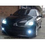 Acople Bomper Delantero Renault Clio