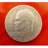 Moneda One Dollar 1776-1976 Conmemorativa