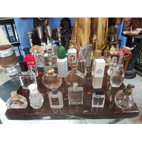 Frasco De Perfume Antiguo Pequeño Decorativo Precio X C/u 23