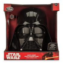 Star Wars Darth Vader Mascara Electronica Disney Store Nuevo
