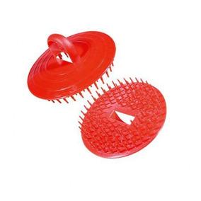 Escova De Plástico Redonda Para Massagem Capilar 12 Unidades