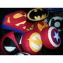 Cojines Superheroes Superman Batman Spiderman Capitan Améric