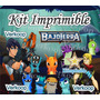 Kit Imprimible Bajo Terra Slug Terra + Candy Bar Tarjetas