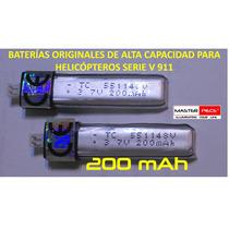 Baterías Alta Capacidad Helicopteros Serie V911
