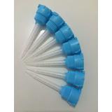 Pontas Misturadoras Azul Para Resina 3m 1:1 C/ 100 Unid.