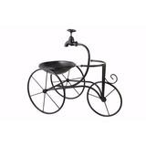 Triciclo Bicicleta Portamaceta Macetero Hierro Vivero Jardin