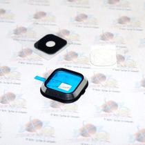 Marco + Lente Cristal De Camara Samsung Galaxy A700 A7 Negro