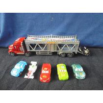 Camion Gandola Cars De Juguete