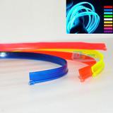 Fita Fio Luz Neon Led 5 Mts Controle 3v Cons. Cores *el Wire