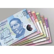 Contadora De Billetes Cuenta Pesos Y Dolares Bill-100