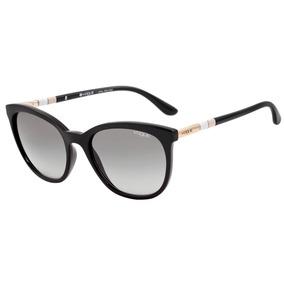 Vogue Vo 5123 Sl - Óculos De Sol W44/11 Preto Brilho/ Preto