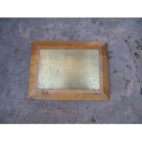 Antigua Placa De Bronce Para Grabar