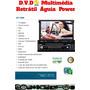 Dvd Player Multimidia Retratill 7 Poligadas Com Tv/gps/bt
