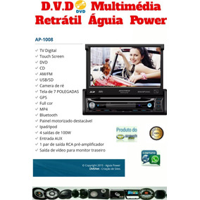 Dvd Player Multimidia Retratill 7 Poligadas Com Tv/gps/bt