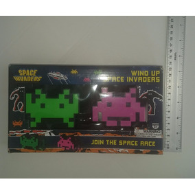 Space Invaders De Cuerda, Set De Dos, Hechos Por 50 Fifty