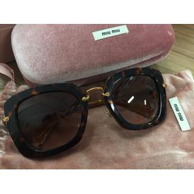 Óculos De Sol Miu Miu Feminino Original Importado