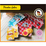 Kit Jake Pirata - Candy Bar & Invitaciones P/imprimir