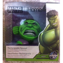 Ihome Bocina Para Iphone Ipad Ipod Mp3 Hulk Minnie Bob Espon