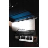 Orgão Eletrônico Yamaha Portátil Modelo Yc-30-d Som Hammond