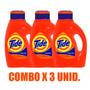 Jabon Liquido Para Ropa Tide Original De 2.95lts X 3 Unid.