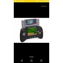 Retro Super Nintendo Portátil , V.2.0 Novo Na Caixa .