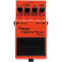 Pedal Boss Mega Distortion Md2 + Brinde + Nfe + Garantia