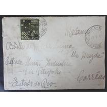 Brasil 1941 Envelope Franquia Isolada 1º Porte Pro-juventude