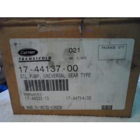 Bomba De Aceite Para Compresor Carrier O5g Y O5k