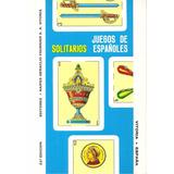 Juegos De Solitarios Españoles Incluye Un Mazo De Cartas