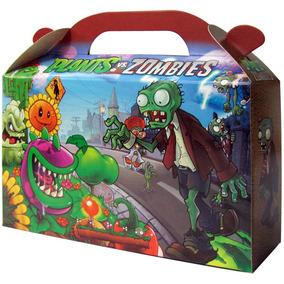 Plantas Vs Zombies Bolsita Golosinera Souvenir Pack X 10 Un