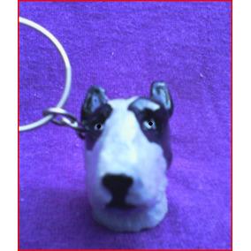Lindo Chaveiro De Bull Terrier - Cachorro Cães De Raça