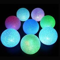 15 Centros De Mesa Esfera Led Multicolor 7,5 Pilas Recambio