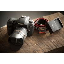 Canon 7d Con Lente Tamron (17-50 2.8) Y Accesorios