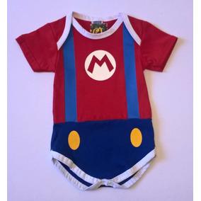 Body Fantasia Mário Para Bebês