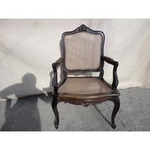 1 Cadeira De Braço-poltrona Luis Xv Jacarandá Breshopping