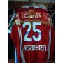 Camiseta U De Chile Herrera Roja Mangas Largas 2011