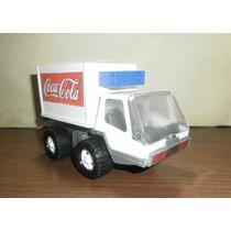 Camion De Coca Cola De Chapa Y Plastico