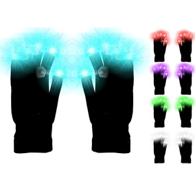 Guantes Luminosos Luz Led Fiesta Eventos Disco