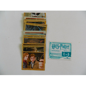 Figurinhas Cromo Harry Potter Relíquias Da Morte - Parte 2
