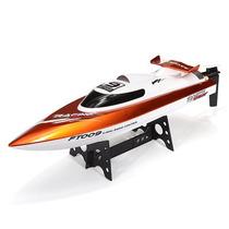 Lancha Racing Flipped Boat 4ch 2.4ghz Laranja Rc Rtr Ft009