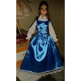 Vestdo Da Princesa Bela Para Boneca Barbie